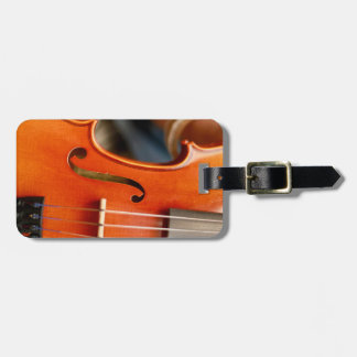 Musical Violin Case or Luggage Tag