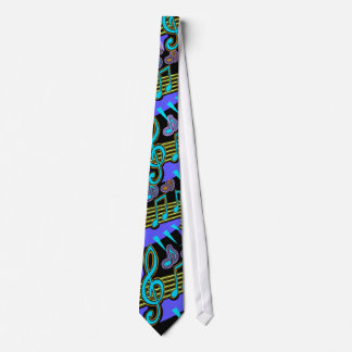 MUSICALLY INCLINED  DESIGN NECKTIE