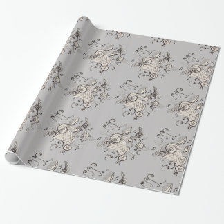 Musically Inspired! Wrapping Paper