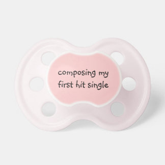 Musically Talented Child Pacifier