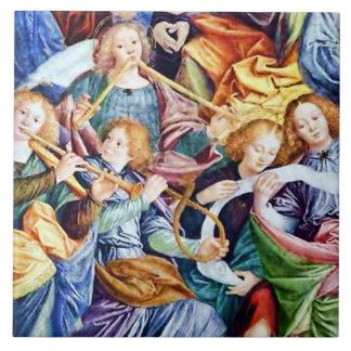 Musician Angels in Concert Tile