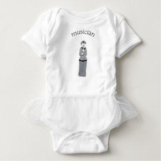 musician baby bodysuit