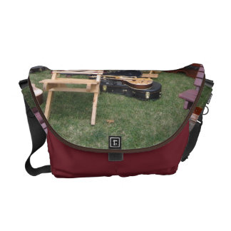 Musician Band Camp Messenger Bag