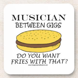 Musician Between Gigs Coaster