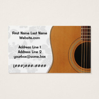 Musician Business Card