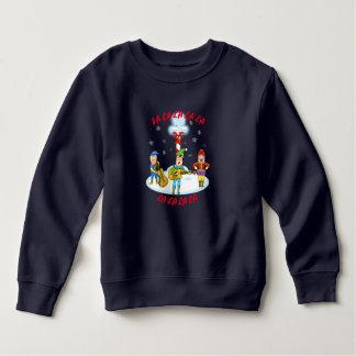 Musician Elves Toddler Fleece Sweatshirt