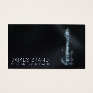 Musician Guitar Player Business Card