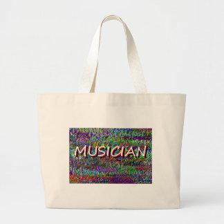 Musician Jumbo Tote Bag