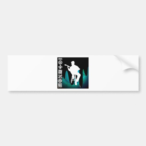 MUSICIAN PRODUCTS BUMPER STICKERS