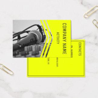 Musician/Sound Engineer/Singer Business Card