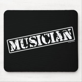 Musician Stamp Mouse Pad