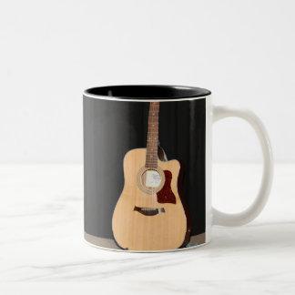 Musician Tasse Two-Tone Coffee Mug