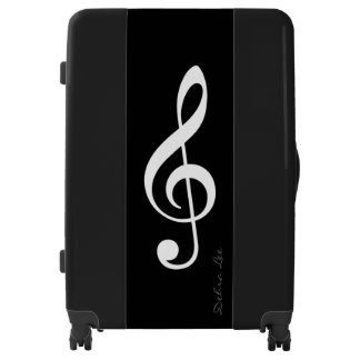 musician traveller personalized luggage