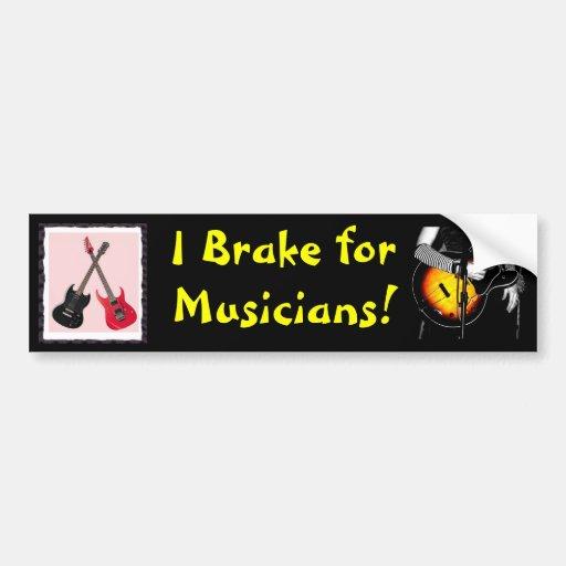 musicians Bumper Sticker
