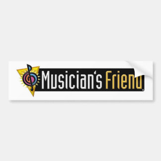 Musician's Friend Swag Bumper Sticker