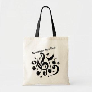 Musicians Just Duet Tote Bag