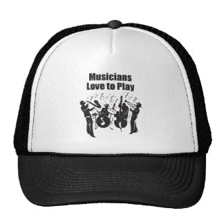 Musicians Love to Play Cap