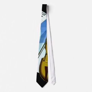 Musician's Necktie Keyboard Bass Jazz