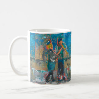 Musicians Of Santa Fe Coffee Mug