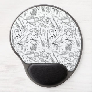Musicians Paradise Gel Mouse Pad