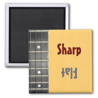 Musicians Sharp Flat Mood Magnet