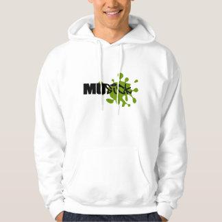 MuSick Logo Basic Hooded Sweatshirt