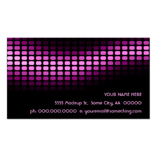 musicmeterz. pack of standard business cards