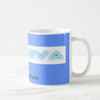 MusicRVA-ForumBlue, Support Local Music Basic White Mug
