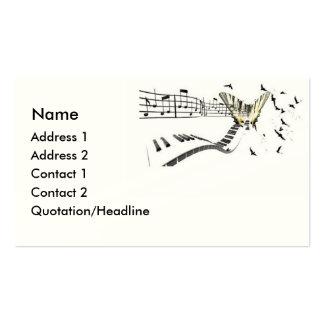 Musiflutter Business Card Template