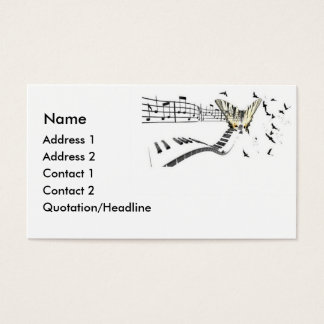 Musiflutter Business Card