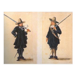 Musketeers Postcard