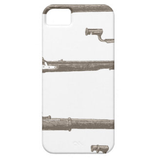 Muskets Old Rifles Vintage Antique Guns Barely There iPhone 5 Case
