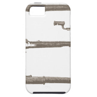 Muskets Old Rifles Vintage Antique Guns iPhone 5 Cover