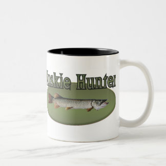 Muskie Hunter Two-Tone Coffee Mug