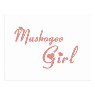 Muskogee Girl tee shirts Postcard
