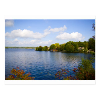 muskoka lake postcard