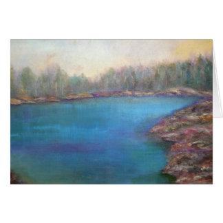 """Muskoka Shores"" Landscape Art Card"