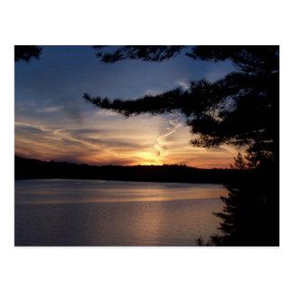 Muskoka Sunset Postcard