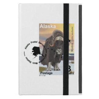 Muskox Stamp Souvenir Cases For iPad Mini