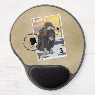 Muskox Stamp Souvenir Gel Mouse Pad
