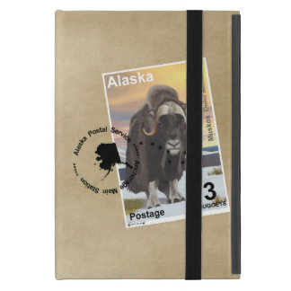 Muskox Stamp Souvenir iPad Mini Cover