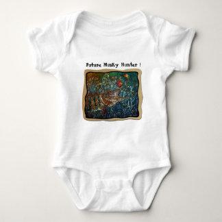 MUSKY Bucktl Bordered Baby Bodysuit