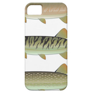 Musky Tiger musky and Northern Pike vector iPhone 5 Cover