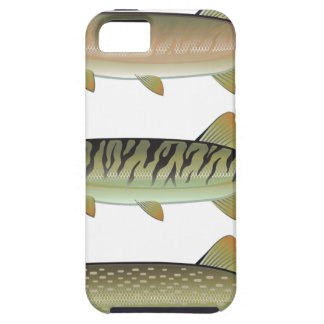 Musky Tiger musky and Northern Pike vector iPhone 5 Covers