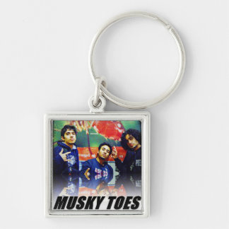 Musky Toes - the Band Key Ring