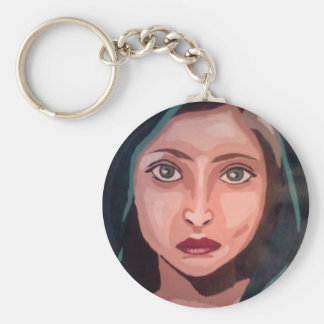 muslim girl key ring