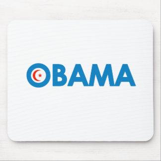 MUSLIM OBAMA T-SHIRT MOUSE MATS