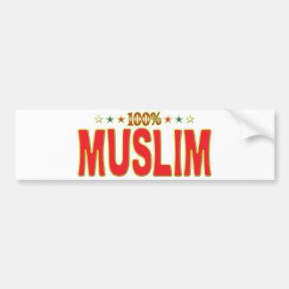 Muslim Star Tag Bumper Stickers