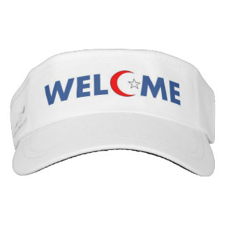 Muslims Welcome in the USA! Visor