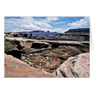 Musselman Arch - Canyonlands National Park Greeting Card